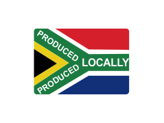 Proudly produced in South Africa